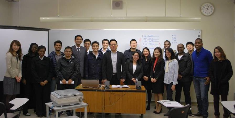 国際大学(IUJ)との提携によるアジア人、アフリカ人留学生のインターンシップ受入と アジア新興諸国およびアフリカ新興諸国保険市場調査活動の実施について